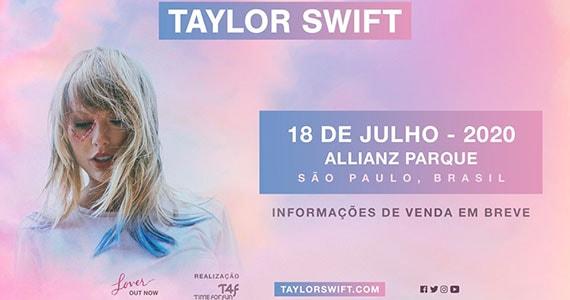 Taylor Swift se apresenta no Allianz Parque em nova turnê Eventos BaresSP 570x300 imagem