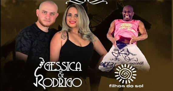 Terça Sertaneja com Jéssica & Rodrigo e Filhos do Sol animando o San Diego Bar Eventos BaresSP 570x300 imagem
