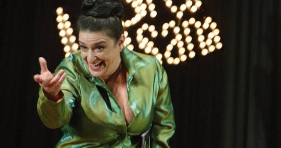 Grace Gianoukas apresenta Terça Insana no Teatro Procópio Ferreira com grandes nomes do humor Eventos BaresSP 570x300 imagem