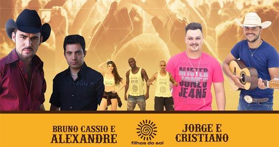 Balada Terraneja com Bruno Cassio & Alexandre, Filhos do Sol e Jorge & Cristiano no Terra Country Eventos BaresSP 570x300 imagem