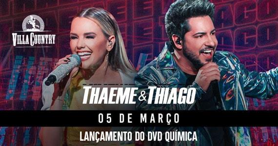 Thaeme e Thiago apresentam novo DVD no Villa Country Eventos BaresSP 570x300 imagem