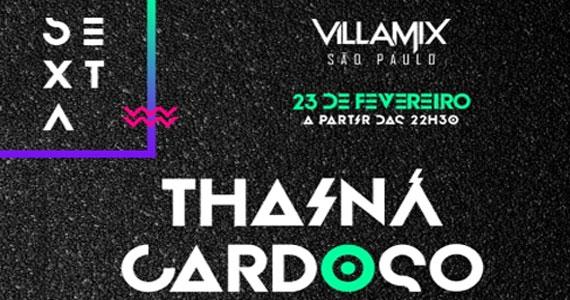 Thainá Cardoso apresentam um repertório animado e eclético no palco da Villa Mix Eventos BaresSP 570x300 imagem