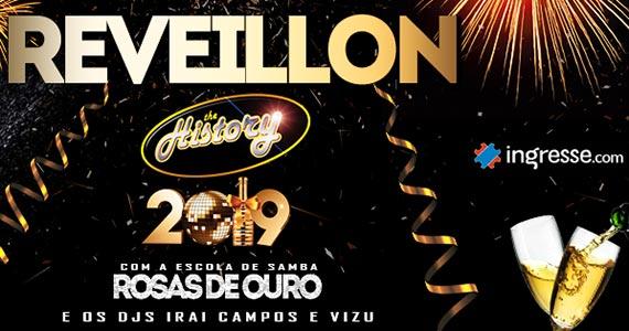 O Réveillon 2019 do The History conta com a bateria da Rosas de Ouro Eventos BaresSP 570x300 imagem