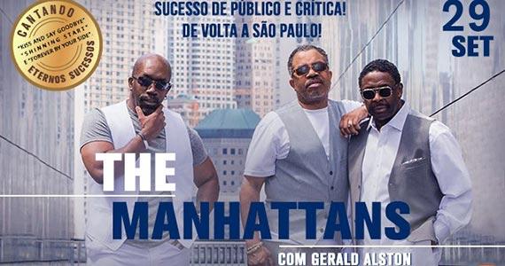 The Manhattans realizam show no Espaço das Américas Eventos BaresSP 570x300 imagem