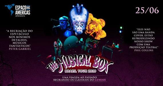The Musical Box trazem o rock progressivo ao Espaço das Américas  Eventos BaresSP 570x300 imagem