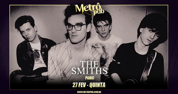 The Smiths Cover agitam noite do Metrô Pub