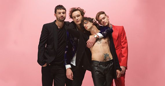 Electro Pop da banda inglesa The 1975 agita a noite do Audio Club Eventos BaresSP 570x300 imagem