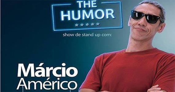 Quinta tem The Humor com Márcio Américo no Baccará Bar & Grill Eventos BaresSP 570x300 imagem