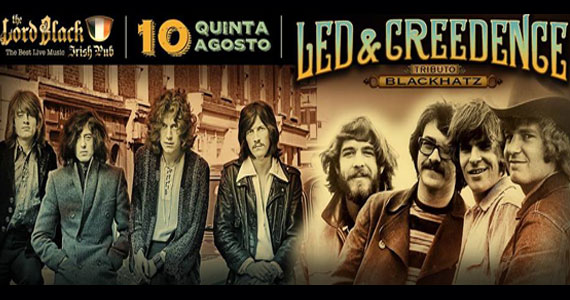 Banda Blackhatz faz tributo ao Led Zeppelin & Creedence no The Lord Black Irish Pub Eventos BaresSP 570x300 imagem