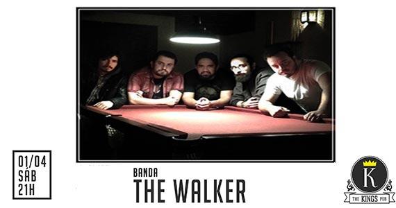 Sábado tem show da banda The Walker tocando muito rock no The Kings Eventos BaresSP 570x300 imagem