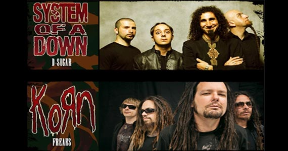 Feriado de peso no The Wall Café com D-Sugar System of a Down Cover X Freaks Korn Tribute Brazil Eventos BaresSP 570x300 imagem