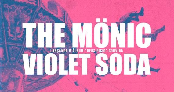 No Dia do Rock, Violet Soda e The Mönic lançam o álbum Deus Picio no CCSP  Eventos BaresSP 570x300 imagem