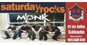 Banda Monk e William Kim com o melhor do rock no Republic Pub