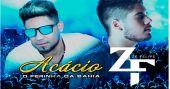"""Acácio """"O ferinha"""" e Zé Felipe cantam no Centro de Tradições Nordestinas, nesta terça-feira"""