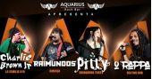 Bandas La Família 019, Ameaça, Brinquedo Torto e Hector Dub com clássicos do rock no Aquarius Rock Bar