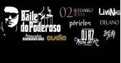 Baile do Poderoso com Péricles, Livinho, Delano e convidados no palco da Audio BaresSP