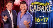 Espaço das Américas recebe gravação do 2º DVD Caberé com Leonardo e Eduardo Costa