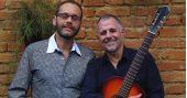 Carlos Navas & Swami Jr juntos no palco pela primeira vez no Teatro Anchieta dentro do Sesc Consolação BaresSP