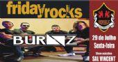 Banda Burnz e Sal Vincent agitam a noite com pop rock no Republic Pub BaresSP