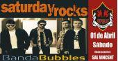 Banda Bubbles e Sal Vincent comandam a noite com pop rock no Republic Pub