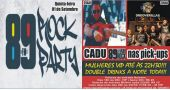 Banda Grooverillas e DJ Cadu no 89 Rock Party do Republic Pub