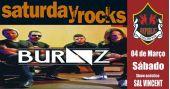 Sal Vincent e banda Burnz comandam a noite com muito rock no Republic Pub