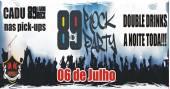 Banda #Vai Ter Rock e DJ Cadu comandam a noite no Republic Pub