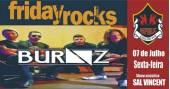 Banda Burnz e Sal Vincent com muito rock no Republic Pub