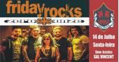 Banda Zero Onze e Sal Vincent animam a noite com muito rock no Republic Pub