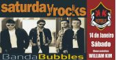 William Kim e banda Bubbles comandam a noite com rock no Republic Pub