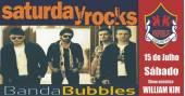 Banda Bubbles e William Kim comandam a noite com clássicos do rock no Republic Pub