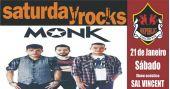 Sal Vincent e banda Monk comandam a noite com pop rock no Republic Pub