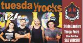 Sal Vincent e banda Vih comandam a noite com pop rock no Republic Pub