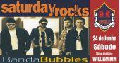 William Kim e banda Bubbles comandam o sábado com rock no Republic Pub