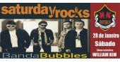 William Kim e banda Bubbles comandam a noite com clássicos do rock no Republic Pub