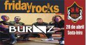 Banda Burnz comanda a noite com o melhor do rock no Republic Pub