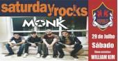 Banda Monk e William Kim comandam a noite com muito rock no Republic Pub