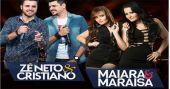Zé Neto & Cristiano e Maiara & Maraisa cantam os seus maiores sucessos no Centro de Tradições Nordestinas