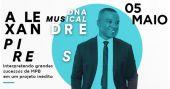 Alexandre Pires apresenta no dia 05 de maio a turnê