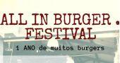 All In Burger comemora o Dia do Hambúrguer e um ano de atividades na Cervejaria Madalena