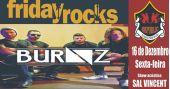 Sal Vicent e banda Burnz embalam a noite no Friday Rocks no Republic Pub