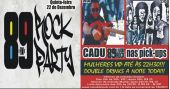 Banda Vih e Dj Cadu agitam a noite do 89 Rock Party no Republic Pub