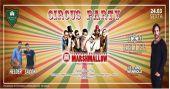 Circus party com a banda Marshmallow e top Dj Tom Keller no Dunluce Irish Pub