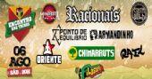 Encontro das Tribos tem shows de Racionais, Chimarruts, Rael, Ponto de Equil�brio, Armandinho e mais na Est�ncia Alto da Serra