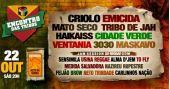 Encontro das Tribos com Criolo, Emicida, Mato Seco, Tribo de Jah, Haikaiss, Cidade Verde, Ventania, 3030 e Maskavo no Estância Alto da Serra
