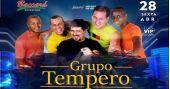 Muito sertanejo com Grupo Tempero, Ex é Ex e Dj Rato no Baccará Bar & Grill BaresSP