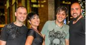 Banda Jack Joe comanda a noite com pop rock no Dublin
