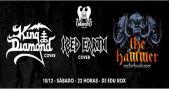 Ice Hearth Cover, Motorhead Cover e King Diamon Cover no Manifesto Bar BaresSP