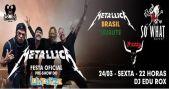 Tributo ao Metallica embala a noite de sexta no Manifesto Bar BaresSP