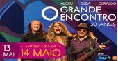 Show 20 anos de Grande Encontro com Elba Ramalho, Geraldo Azevedo e Alceu Valença no Espaço das Américas